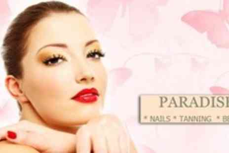 Paradise Tanning and Beauty - Laurens Way Spray Tan With OPI Gel Manicure - Save 60%