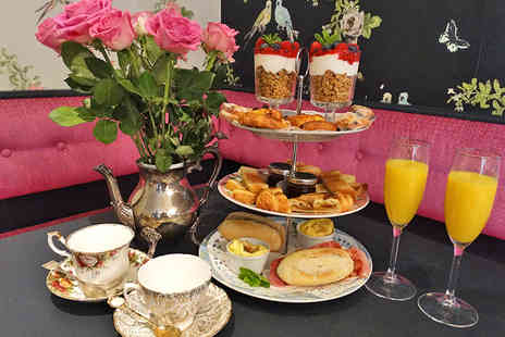 Vinteas Vintage Tea Room - Decadent Brunch with a Breakfast Cocktail for Two - Save 42%