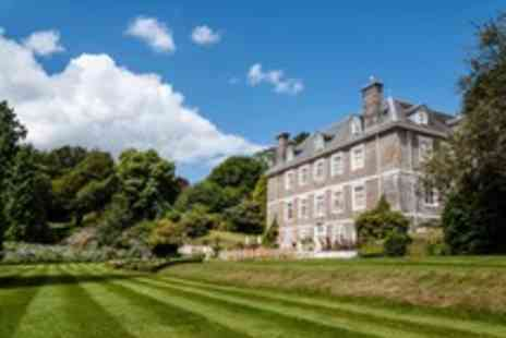 Buckland Tout Saints Hotel - Devonshire Manor House Stay with Devonshire Cream Tea for Two - Save 11%