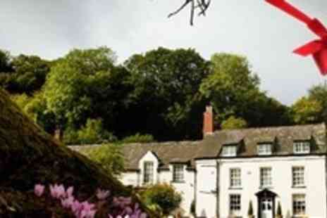 Combe House Hotel - Two Night Stay For Two With Breakfast and Cream Tea - Save 56%