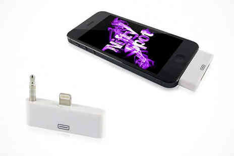 NiftySpot - iPhone 5/5S/5C 30 Pin to 8 Pin Adapter - Save 88%