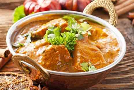 Ashiana Restaurant & Hotel - Two Course Indian Meal For Two - Save 61%