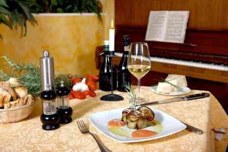 Cafe Piano Restaurant & Bar - Two Course Meal With Wine For Two - Save 47%