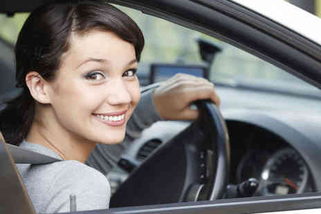 One L of a Driver - Three One Hour Driving Lessons - Save 68%
