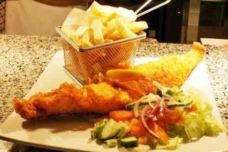 Fish and Grill - Fish and Chips With Mushy Peas For Two  - Save 40%