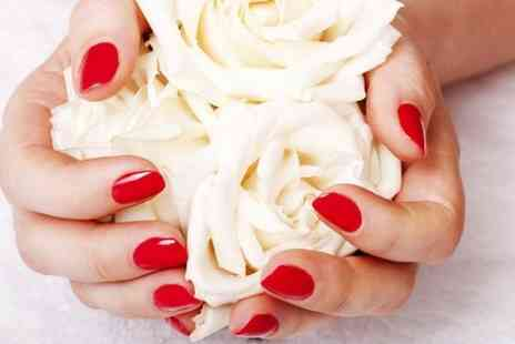 Rougz Hair & Beauty - Deluxe Manicure  or Pedicure  - Save 64%