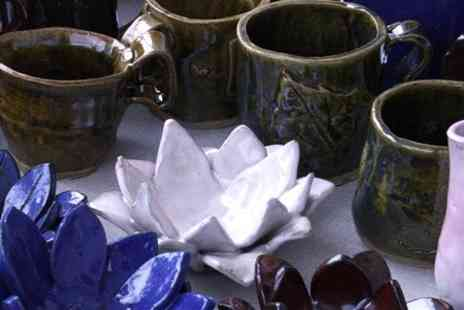 Go Create - Three Hour Ceramics Workshop - Save 59%