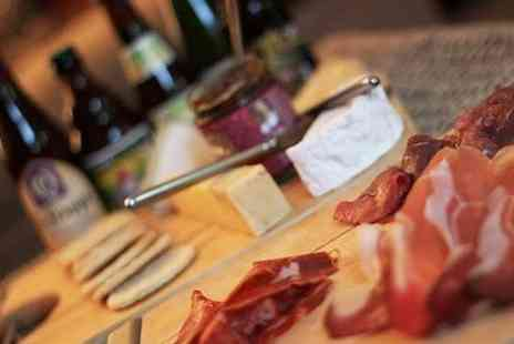 Culture and Cure - Sharing Board and Wine For Two - Save 51%
