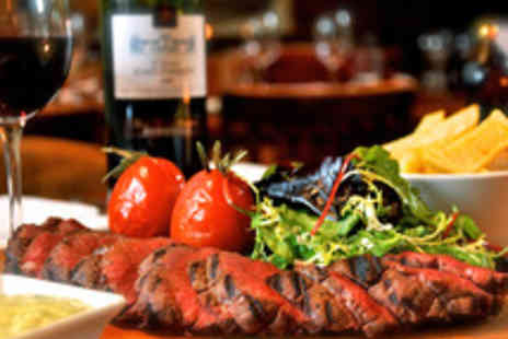 The White Hart at Fyfield - Chateaubriand Steak Meal with Wine for Two at Double AA Rosette Restaurant - Save 58%
