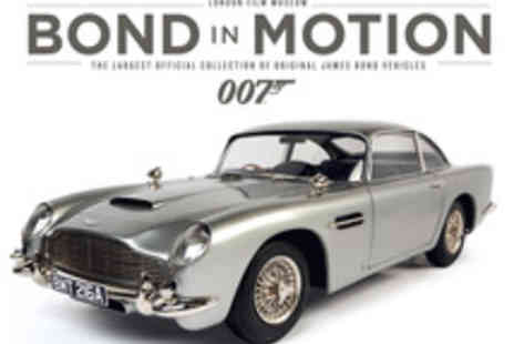 The London Film Museum - Gift Package to Bond In Motion - Save 22%
