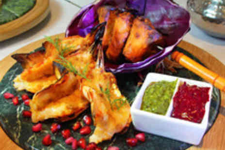 The Painted Heron - Seven Dish Indian Tasting Menu with Prosecco for Two - Save 51%