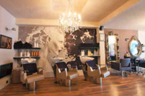 Fairfax Beauty Center - Hair Restyle or Highlighting and Conditioning Treatment with a Senior Stylist - Save 60%