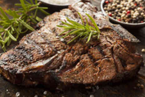The Old House Hotel - 16oz T-Bone Steak Steak Meal for Two with a Glass of Wine Each - Save 49%