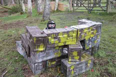 paintball experience - Full Day Paintball  Session Plus Lunch For Two - Save 86%