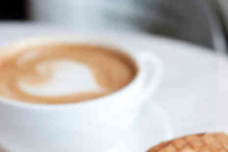 Barista Cafe Bar - Two Ciabattas with Hand Cut Chips and Coffee - Save 95%