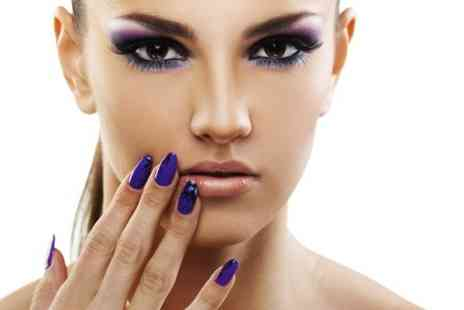The Salon - Manicure or Pedicure  or Both  With Gel Polish  - Save 67%
