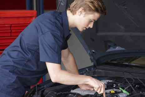 Holbury Service Station - Car Service With Oil Change and Air Con Check  - Save 0%