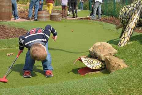 Pirate Island Adventure Golf - 18 Holes Golf With Drink - Save 59%