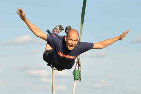 The UK Bungee Club - 160ft bungee jump at one of ten nationwide locations - Save 0%
