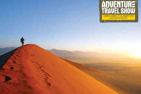 Adventure Travel Show - Two Tickets to the Adventure Travel Show - Save 49%