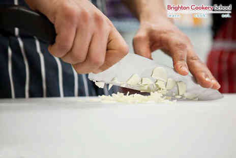Brighton Cookery School - Three Course Cookery Lesson - Save 50%