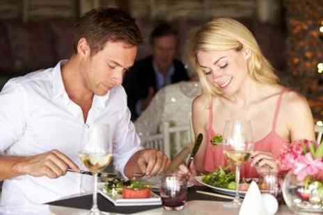 The White Hart Hotel - Three Course Meal With Prosecco For Two - Save 58%