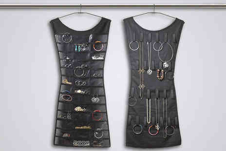 Zip Gadgets - Hanging Jewellery Organiser - Save 75%