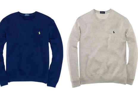 Intriangle Solutions  - Ralph Lauren Mens Atlantic Terry Crew Sweatshirt - Save 60%