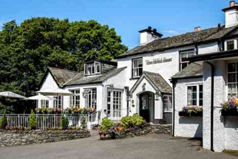The Wild Boar Inn  - Windermere Escape including Breakfast & Bubbly  - Save 34%