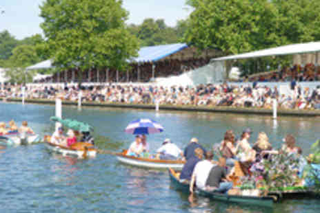 The Maidenhead Steam Navigation Company - Henley Royal Regatta Riverboat Hospitality Package - Save 30%