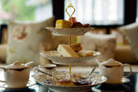 Plough and Harrow Hotel - Indulgent Champagne Afternoon Tea for Two - Save 50%