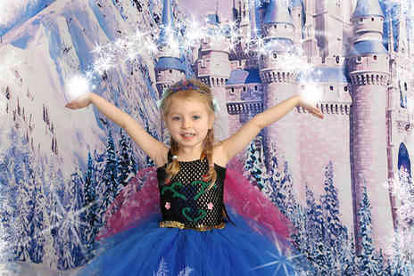 Picture Perfect by Mario - Frozen  Ice Princess themed photoshoot for up to Two children - Save 80%