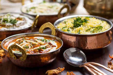 Bobbys Restaurant - Vegetarian Indian meal for Two including a main dish each plus a rice and naan  - Save 40%