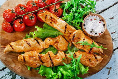 The Olive Tree Greek Restaurant -  £23 voucher to spend on food and drink for Two  -  Save 57%