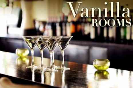 Vanilla Rooms - Annual Membership For Two People Plus Two Cocktails and Four Tapas Dishes  - Save 61%