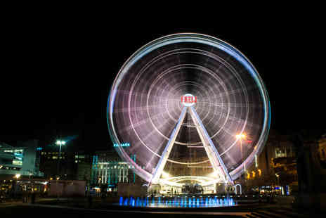 Wheels Entertainment - Two tickets to ride The Wheel of Manchester or The Wheel of Liverpool - Save 56%