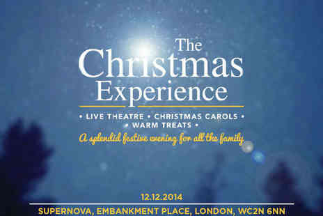 Supernova Arena - Family Ticket to The Christmas Experience Featuring Christmas The Musical - Save 50%