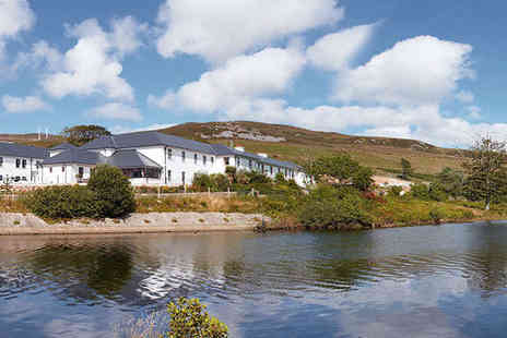 Gweedore Court Hotel - Two Night Break for Two with Breakfast, Main Course and Glass of Wine Each and Full Use of Leisure Facilities - Save 54%
