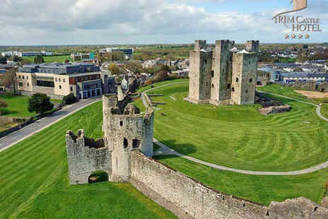 Trim Castle Hotel - One Night Stay for Two with Breakfast, Drink on Arrival, Main Course Each, Use of Leisure Facilities and Late Checkout - Save 54%
