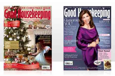 Hearst Magazines - 12 Months Good Housekeeping Magazine Subscriptions  - Save 52%