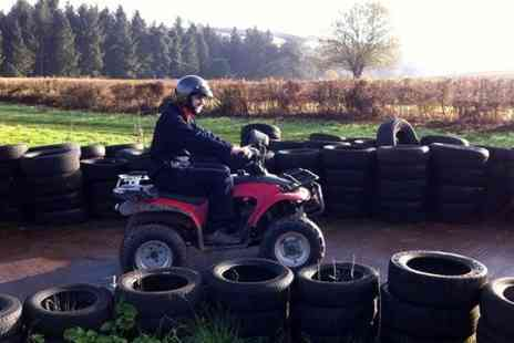 Hamburger Hill paintball - Quad Biking Experience For One - Save 0%