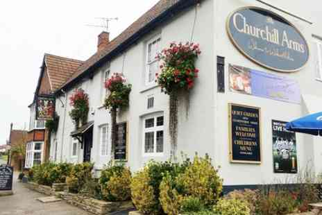 The Churchill Arms - Unlimited Sunday Carvery and Hot Drinks For Two - Save 51%
