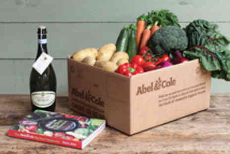 Abel & Cole - Four Week Subscription to a Medium Fruit and Veg Box with a Bottle of Prosecco and Cookbook - Save 55%