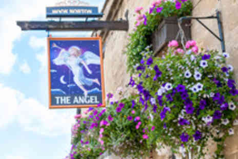 The Angel - One night Cotswolds Getaway with Two Course Dining - Save 48%