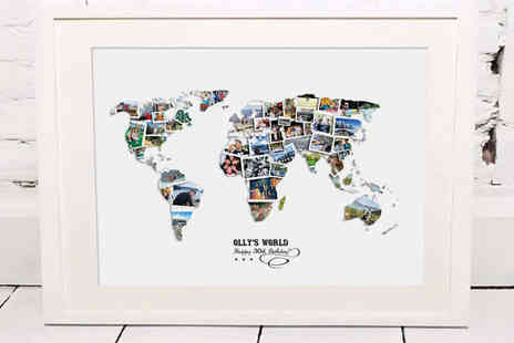 Treasure On The Wall - Personalised Photo Collage - Save 61%