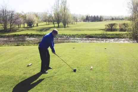 Breedon Priory Golf Centre - 18 Holes With Trolley Hire and Coffee For Two  - Save 65%