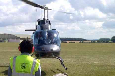 Heli Adventures - Cardiff Bay Helicopter Tour  - Save 64%