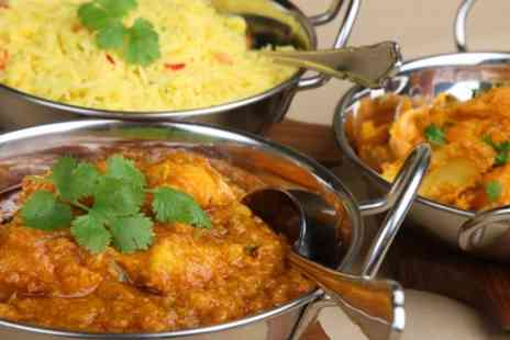 Jamuna Indian Restaurant - Two Courses and Rice For Two  - Save 61%