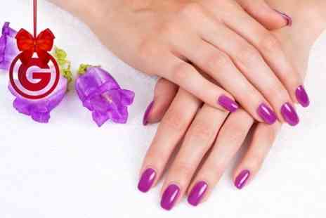 Vanilla - Gel Manicure or Pedicure - Save 60%