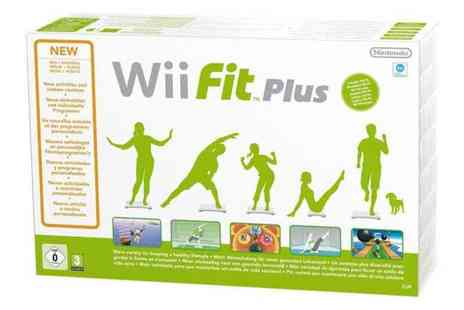 Electric Mania - White Wii Fit Plus with Balance Board - Save 64%